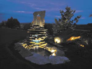art in Bend - null fountain