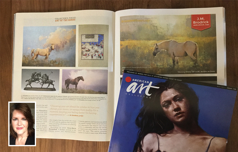 American Art Collector Magazine May 2017