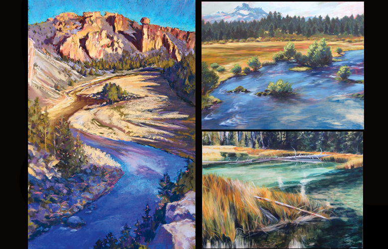 Crooked River Canyon, Metoliius Meadow II & The Source by Susan Luckey Higdon