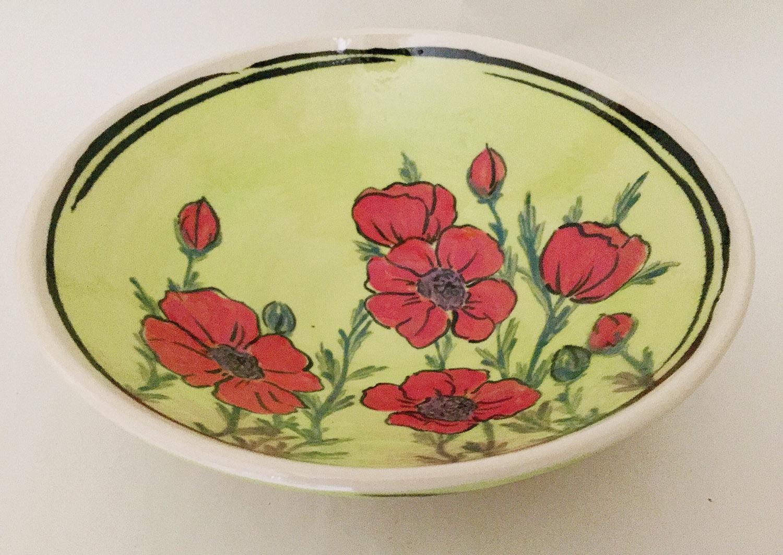 Matson poppy plate