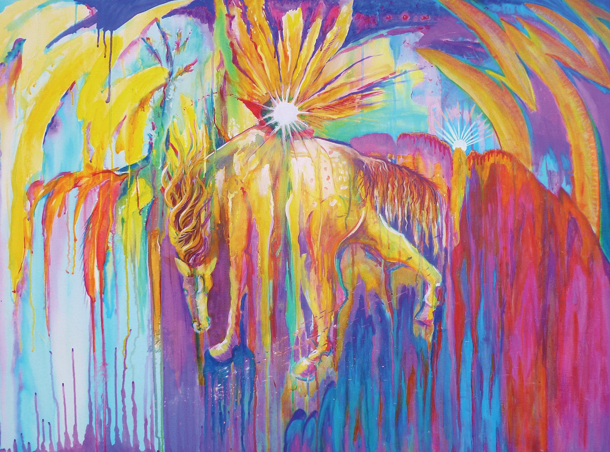 Spirit Horse by Darlene Gertsch