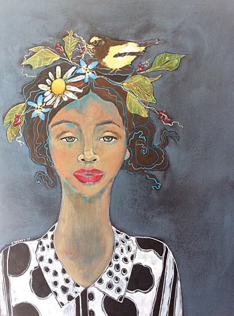 Alleda_The Nest Builder by Dorothy Holmes