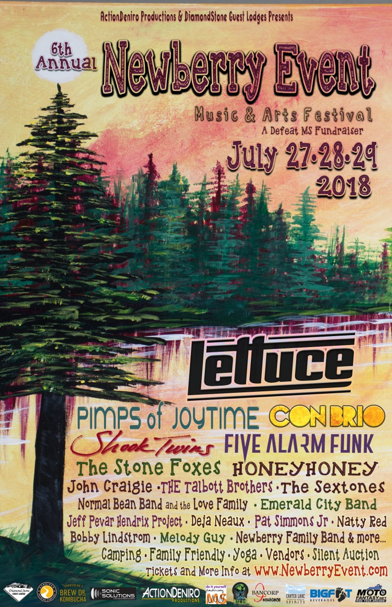 Newberry Event Music & Arts Festival to Defeat MS @ DiamondStone Guest Lodge | La Pine | Oregon | United States