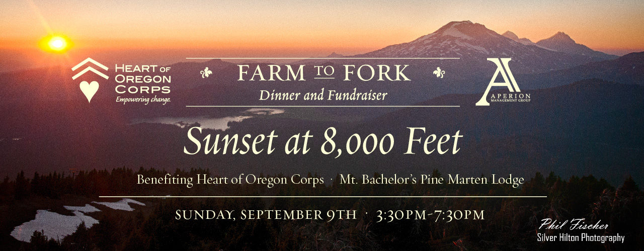 Farm to Fork: Dinner at 8,000 Feet @ Mt. Bachelor's Upper Pine Marten Lodge | Bend | Oregon | United States