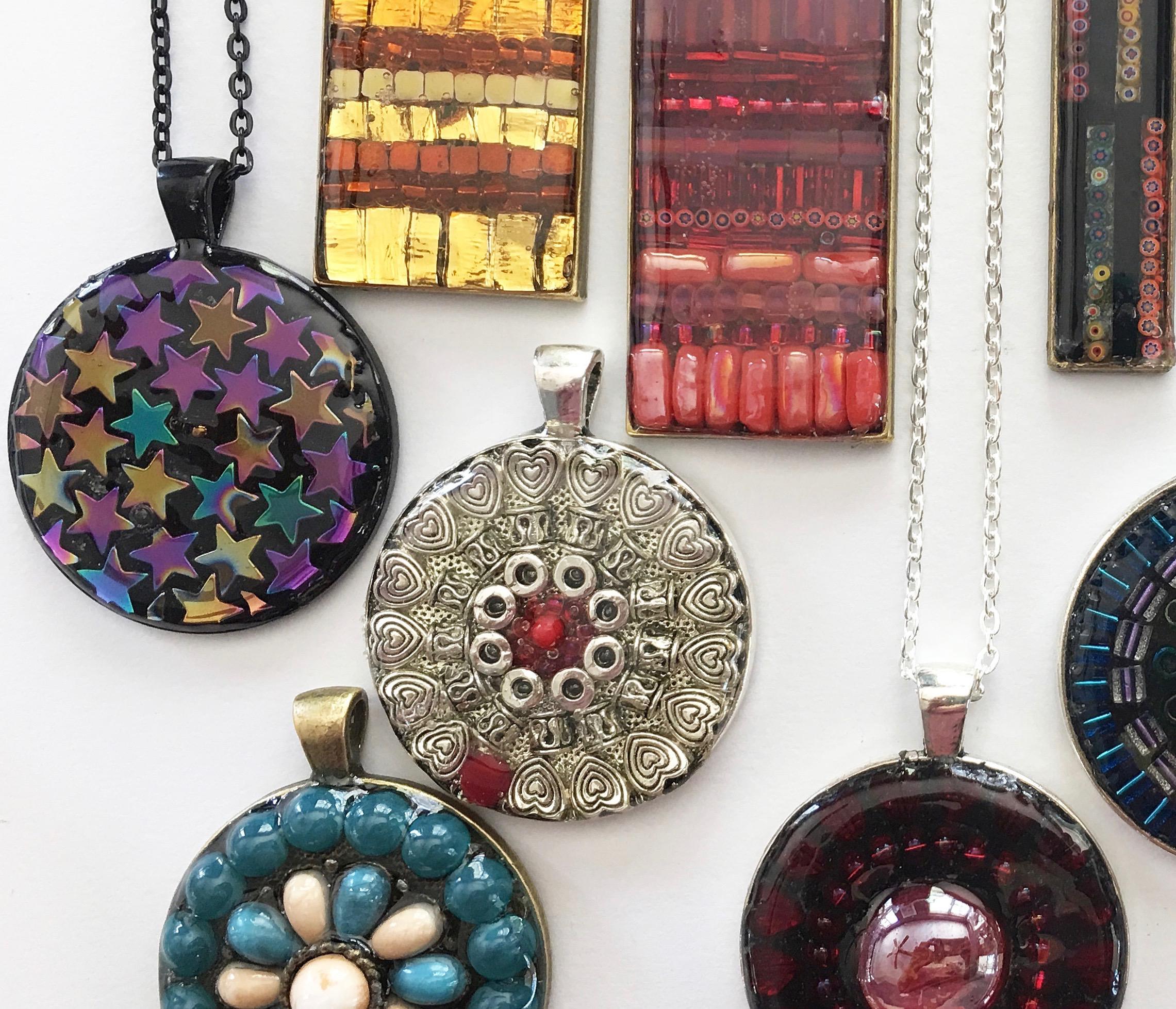 Make a Micro-Mosaic Pendant @ Artists' Gallery Sunriver | Sunriver | Oregon | United States