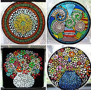 Make a Mosaic Art Ornament - Cascade Arts & Entertainment