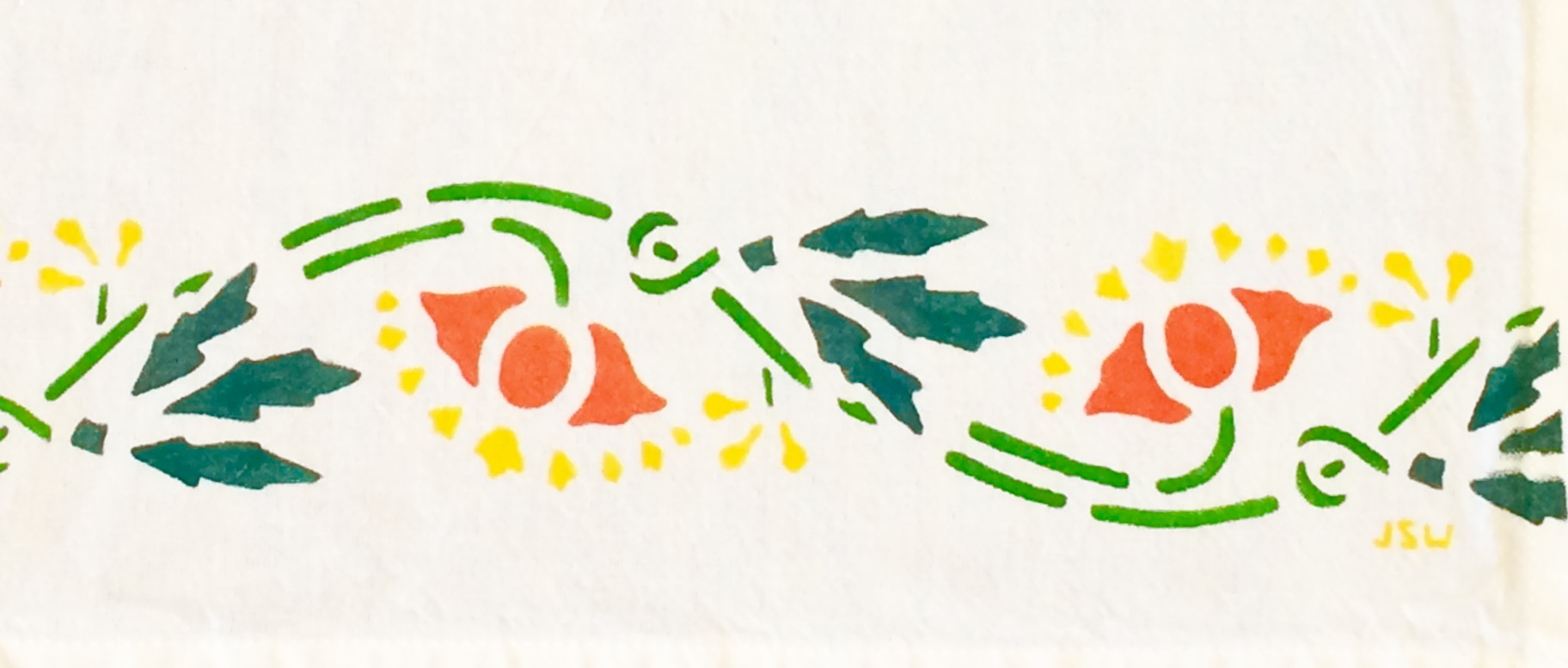 Make a Heritage-Stencil Kitchen Towel @ Artists' Gallery Sunriver | Sunriver | Oregon | United States