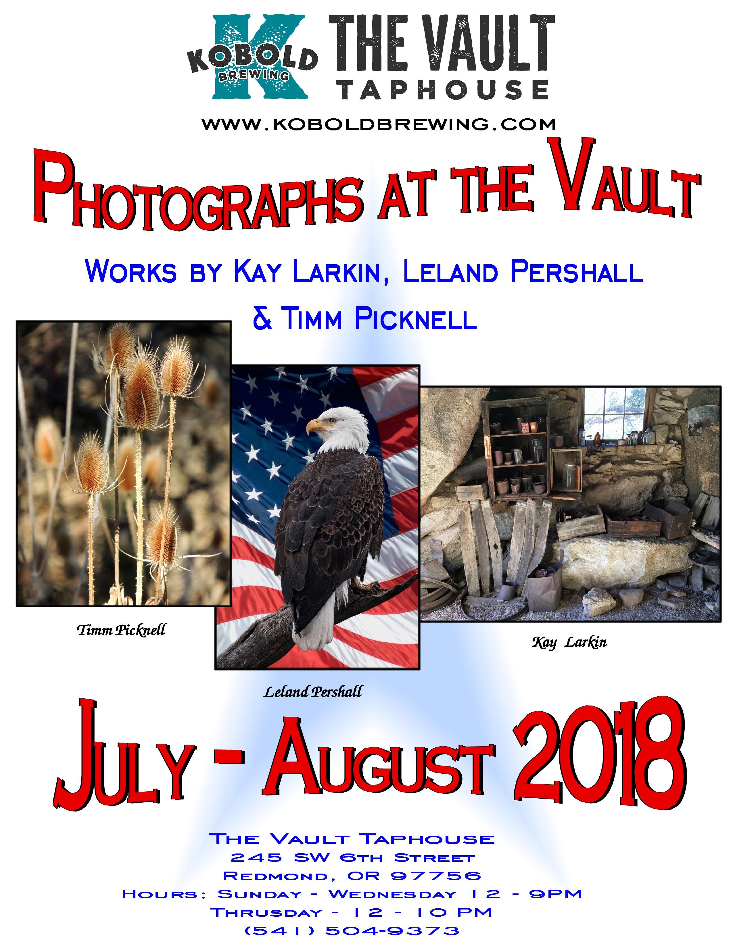 Photographs at the Vault @ The Vault Taproom/Kobold Brewing | Redmond | Oregon | United States
