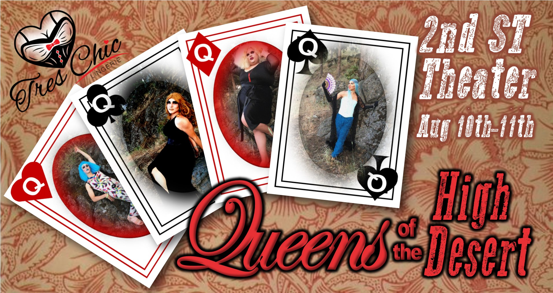 Queens of the High Desert @ 2nd Street Theater | Bend | Oregon | United States