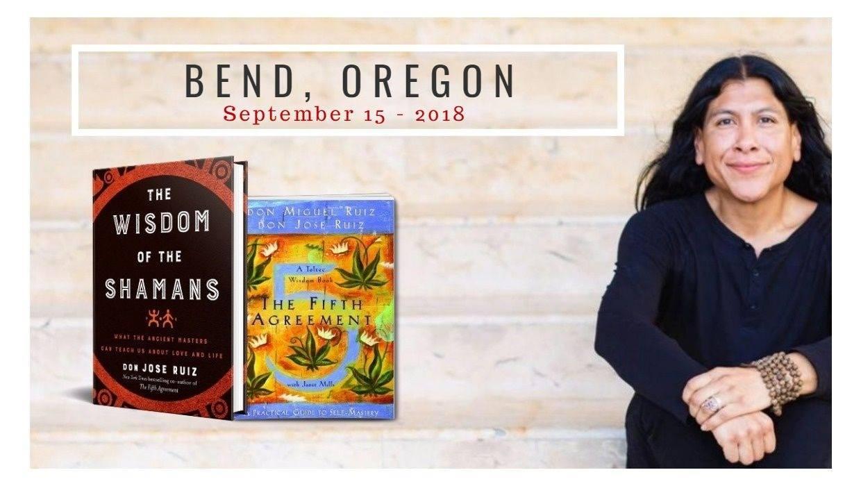 Author and Toltec Shaman don Jose Ruiz @ Unity Community of Central Oregon One World Center Campus | Bend | Oregon | United States