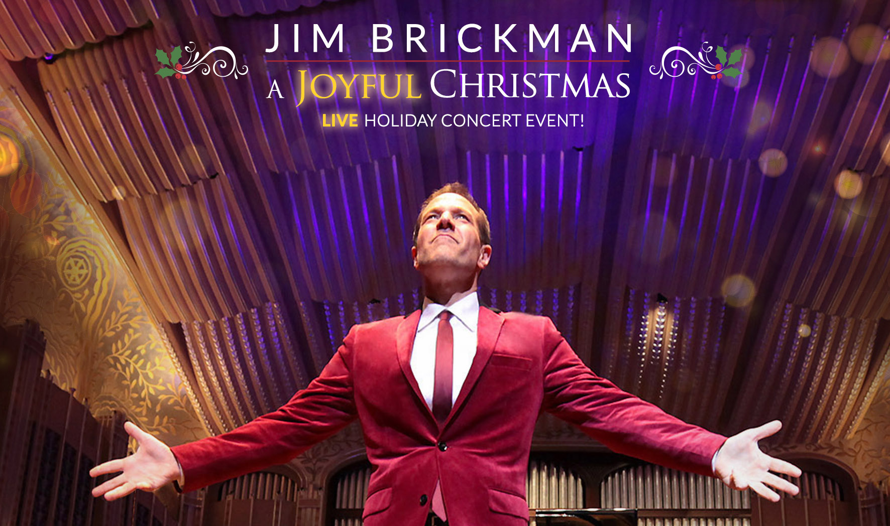 Jim Brickman - A Joyful Christmas Live Holiday Concert @ Tower Theatre | Bend | Oregon | United States