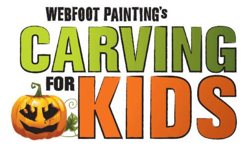 Webfoot Paintings Carving for Kids @ Newport Avenue Market | Bend | Oregon | United States