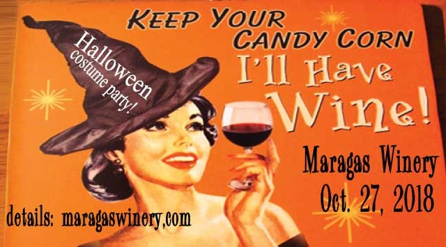 HALLOWEEN COSTUME PARTY: DANCE, WINE & ENJOY! @ Maragas Winery | Culver | Oregon | United States
