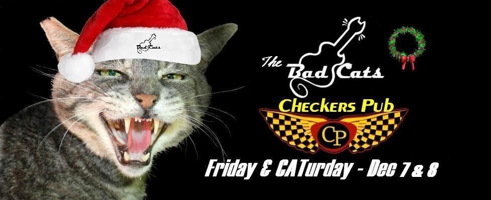 CATurday night LIVE music - The Bad Cats at Checkers! @ Checkers Pub | Redmond | Oregon | United States