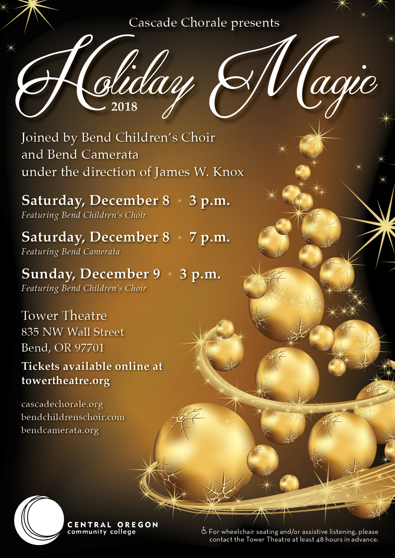 Holiday Magic 2018 @ Tower Theatre | Bend | Oregon | United States
