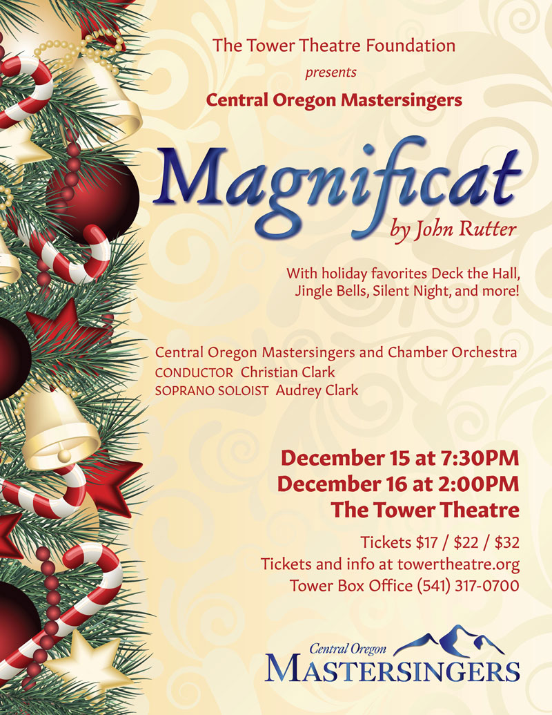 Central Oregon Mastersingers Holiday Concert @ Tower Theater | Bend | Oregon | United States