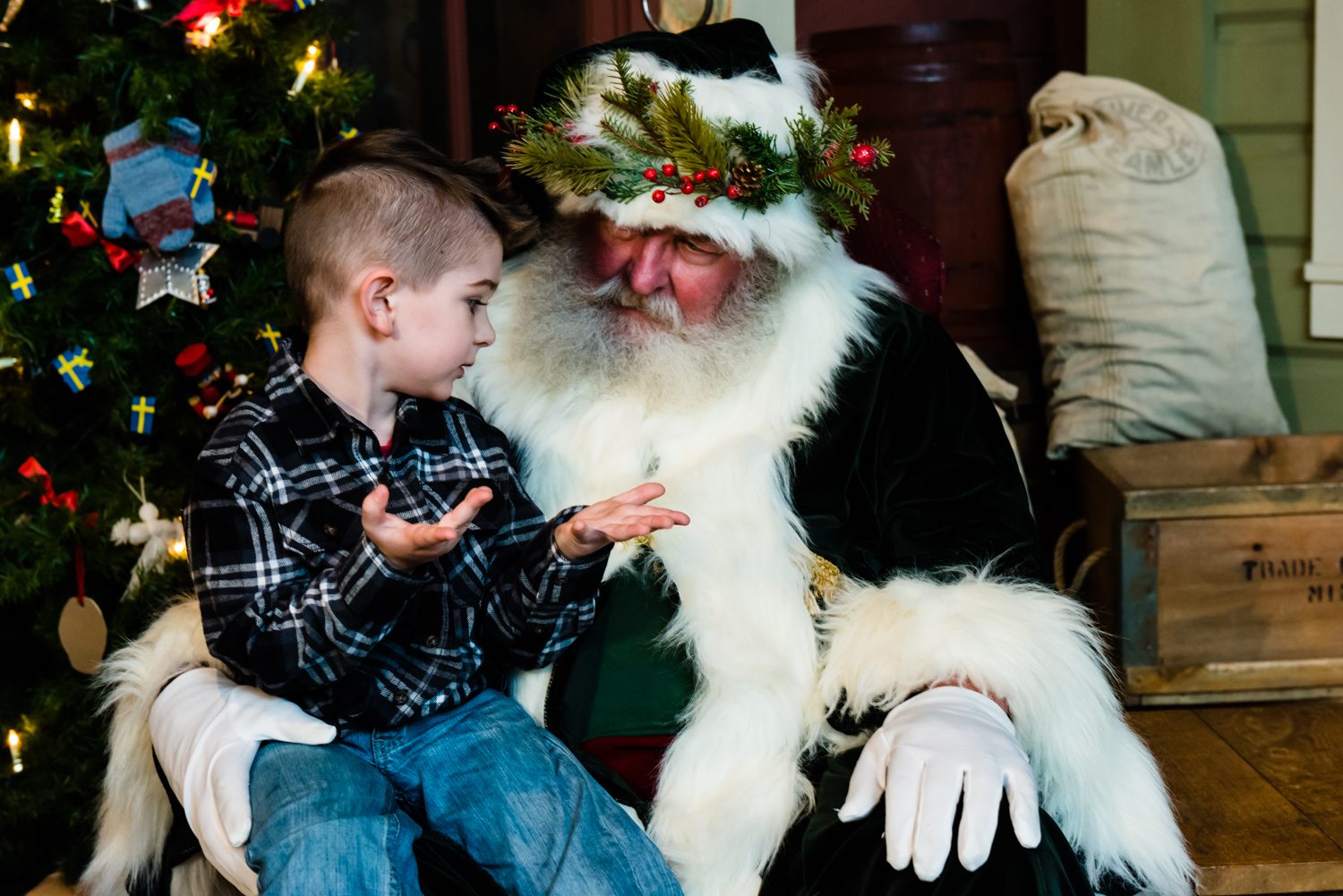 Father Christmas @ The High Desert Museum | Bend | Oregon | United States