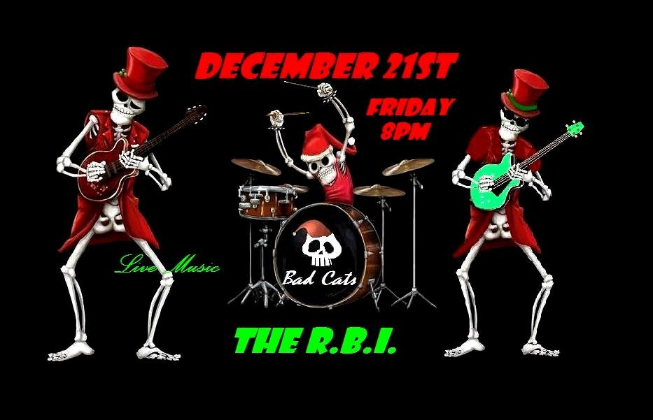 The Bad Cats are rockin the RBI! @ The RBI/Round Butte Inn | Culver | Oregon | United States
