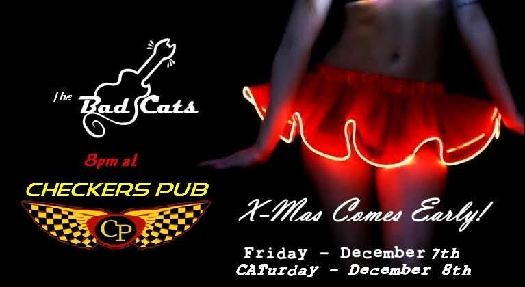 The Bad Cats are rockin' Checkers! @ Checkers Pub | Redmond | Oregon | United States