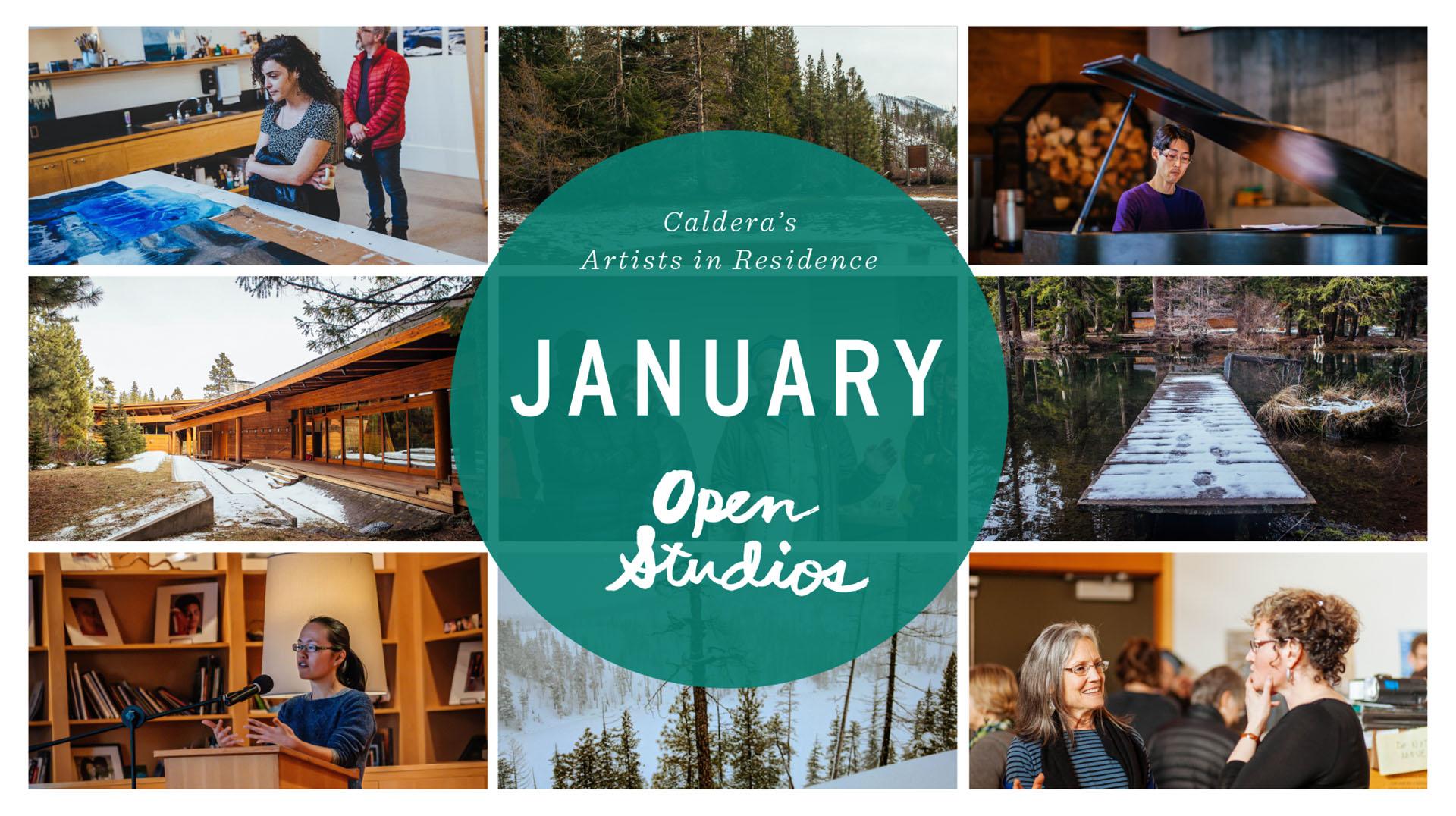 Caldera January Open Studios @ Caldera Arts Center