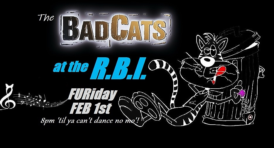 LIVE Music - The Bad Cats at the Round Butte Inn! @ The Round Butte Inn