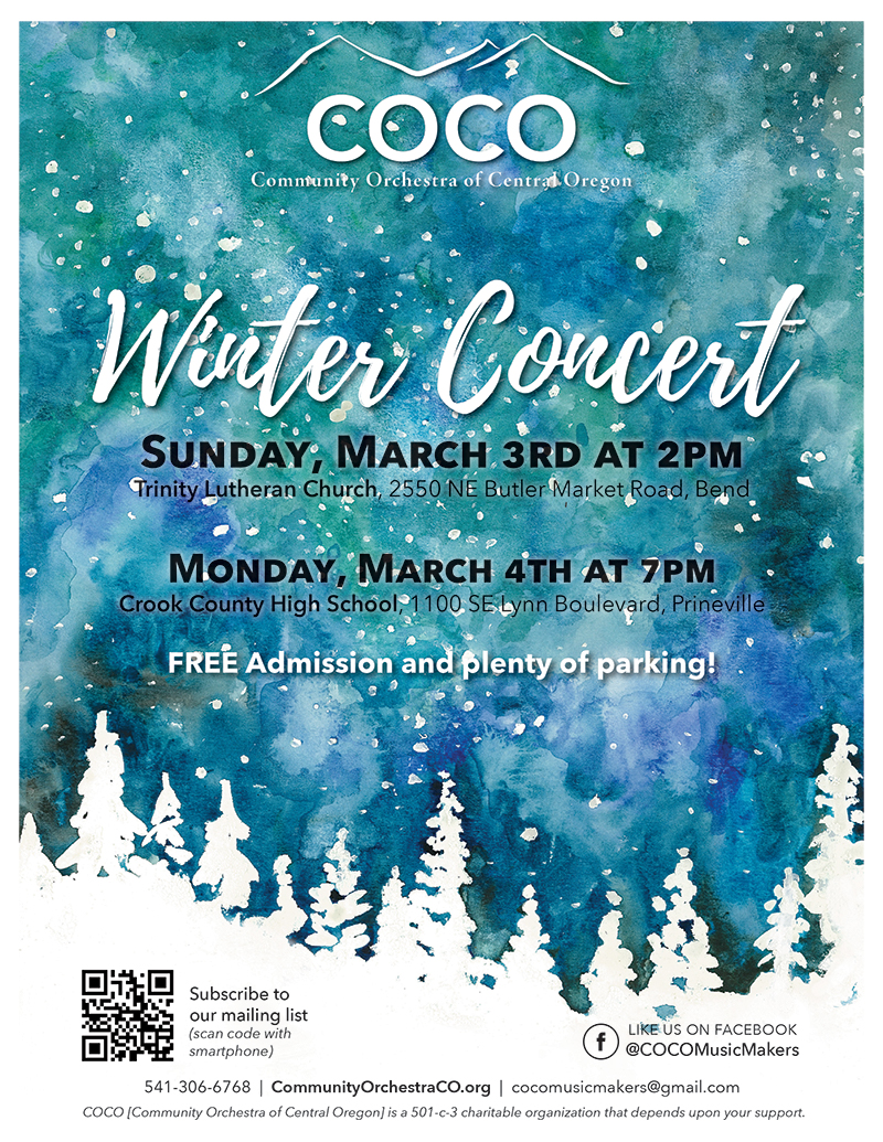 COCO Winter Concert @ Trinity Lutheran Church