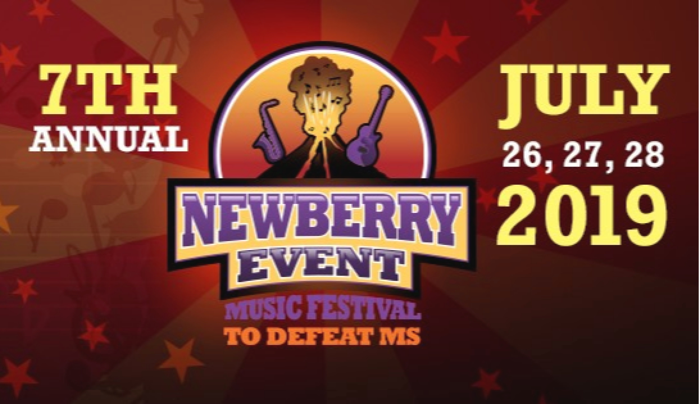 Newberry Event Music & Arts Festival to Defeat Multiple Sclerosis @ DiamondStone Guest Lodge