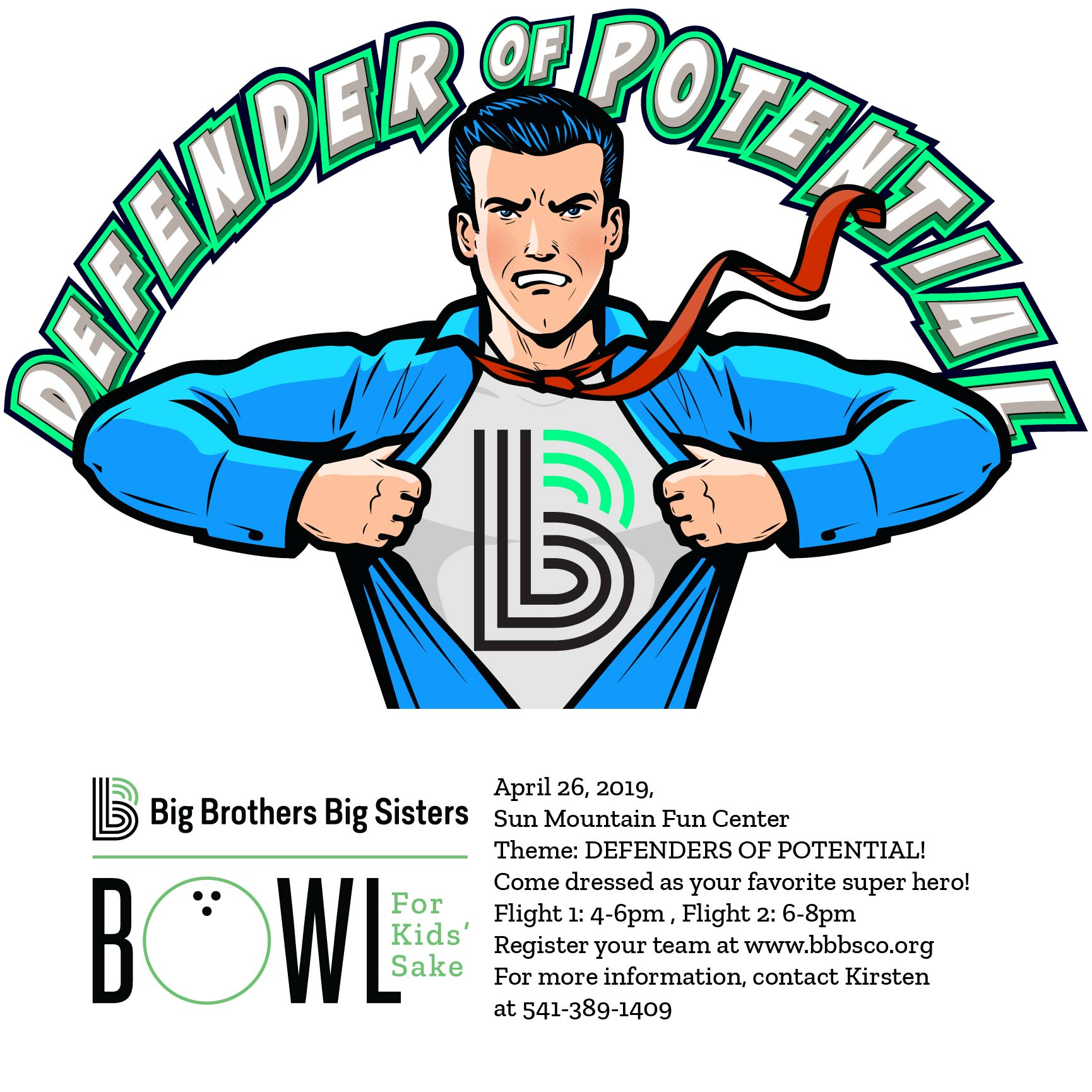 Big Brothers Big Sisters Bowl For Kids' Sake @ Sun Mountain Fun Center