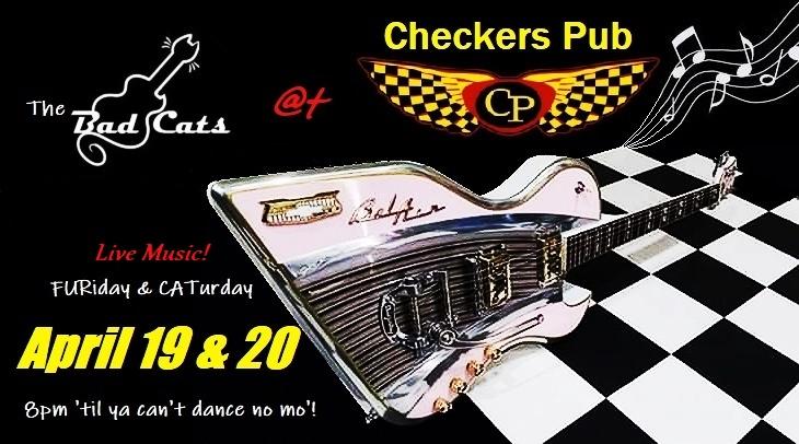 Redmond Rocks - The Bad Cats at Checkers Pub! @ Checkers Pub