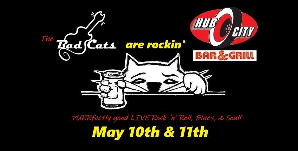 The Bad Cats LIVE music at Hub City! @ Hub City