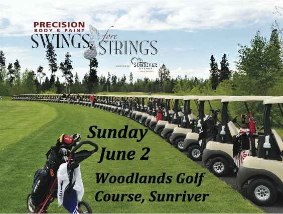 Sunriver Swings fore Strings Golf Tournament @ Woodlands Golf Course