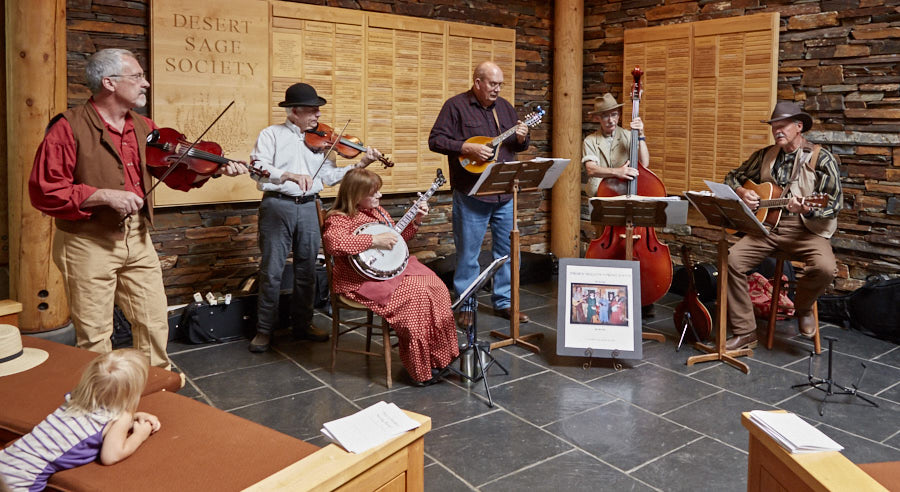 Thorn Hollow String Band @ The High Desert Museum