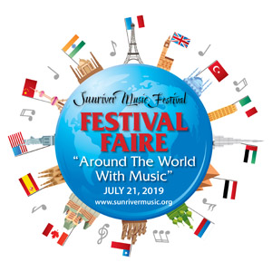 Sunriver Music Festival's Festival Faire: Around the World with Music! @ Sunriver Resort Great Hall, Sunriver Oregon