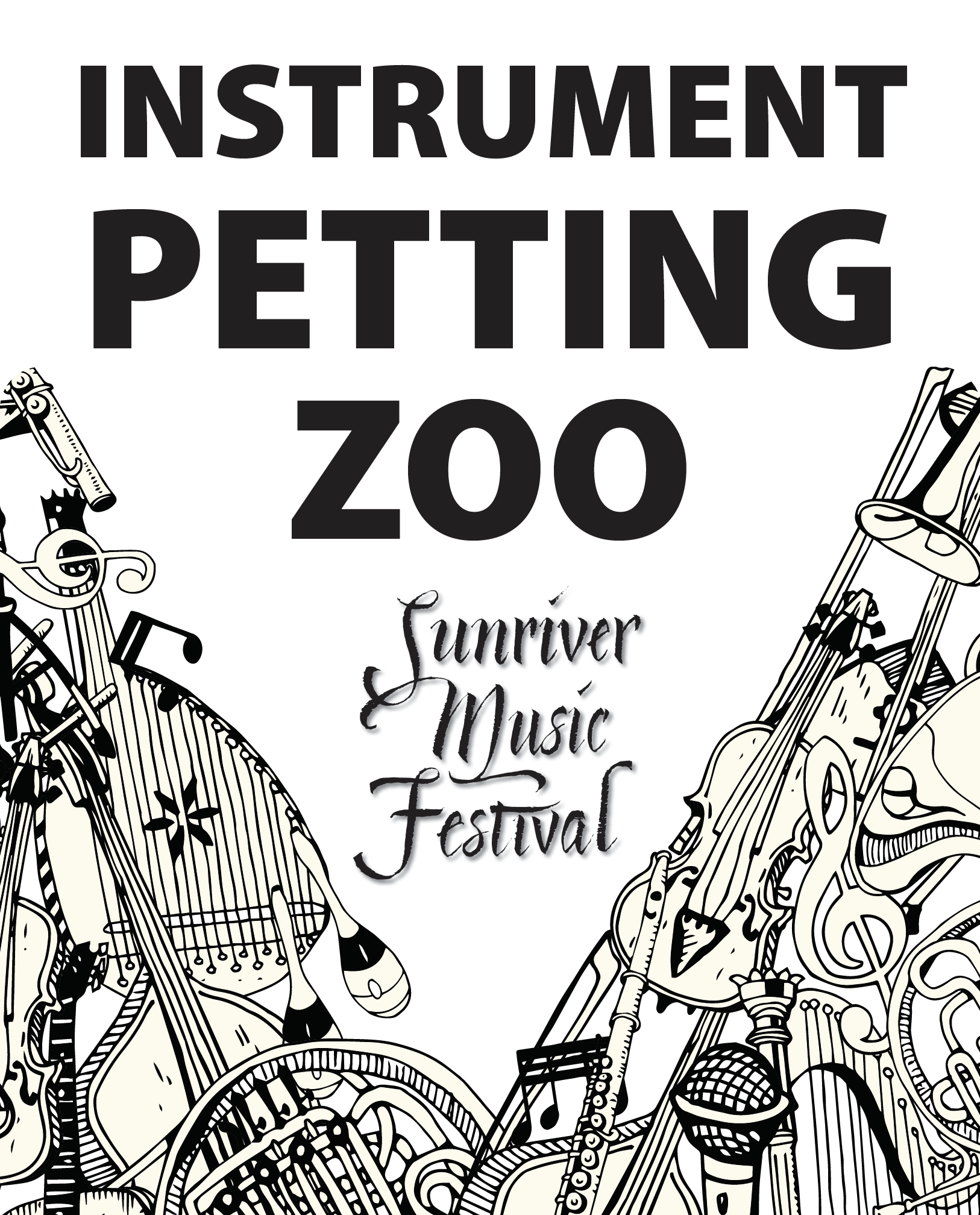 Sunriver Music Festival's Discover the Symphony Concert and Instrument Petting Zoo @ Sunriver Resort Great Hall
