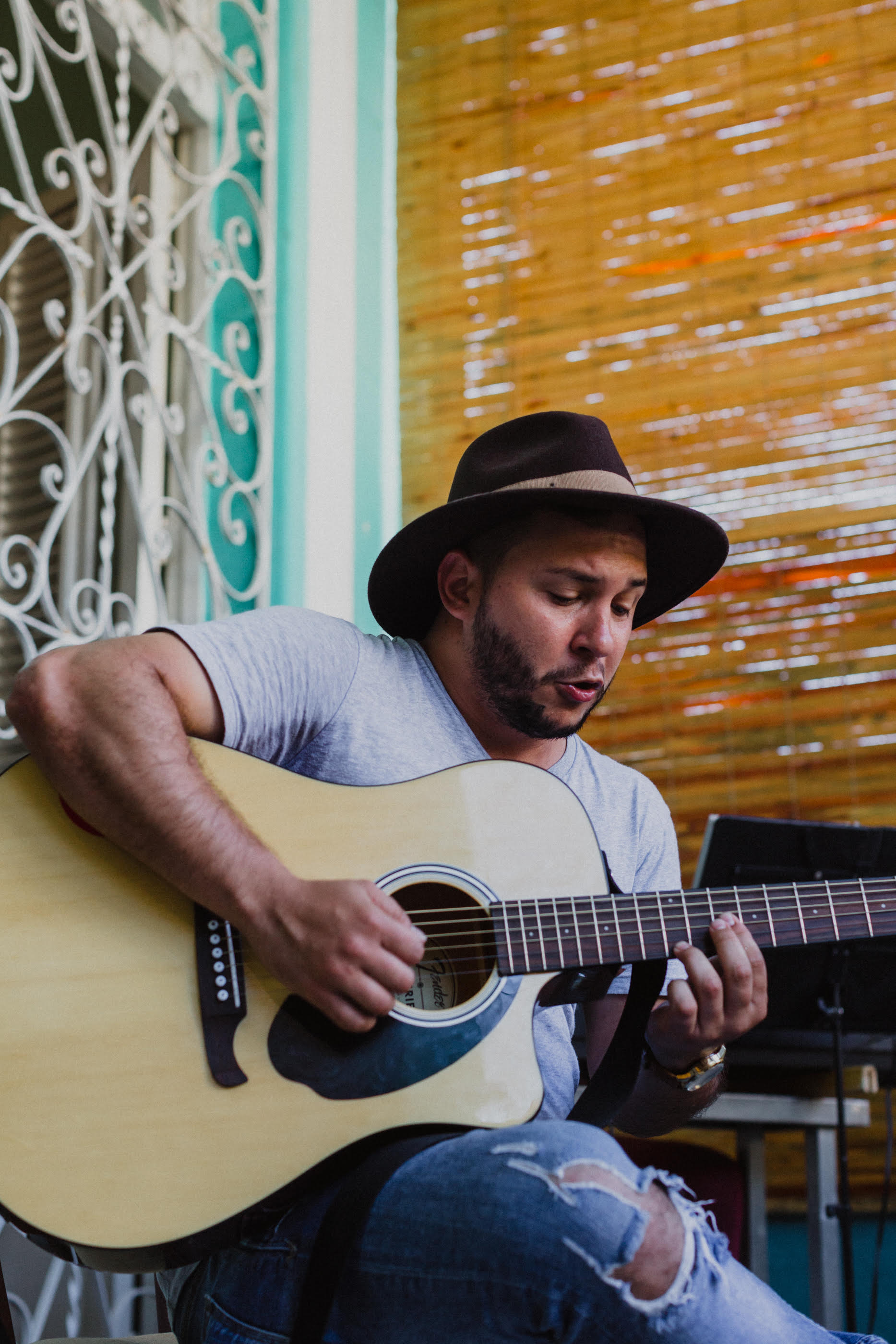 Cuban Fusion Flamenco Guitar @ At Liberty Arts Collaborative