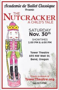 The Nutcracker A Child's Tale presented by students of Academie de Ballet Classique @ Tower Theatre