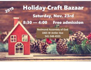 Holiday Craft Bazaar @ Redmond Assembly of God