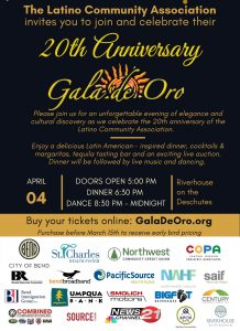 Latino Comm Associations's 20th Anniversary Gala de Oro @ Riverhouse Convention Center