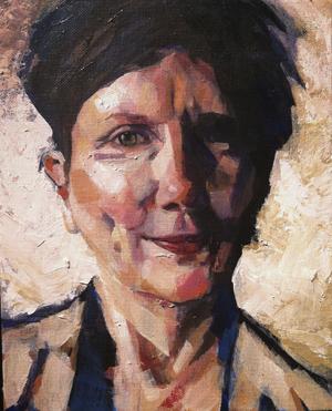 Bend, Oregon Art piece - Self Portrait