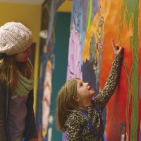 art in Bend,Oregon Boys and Girl's club