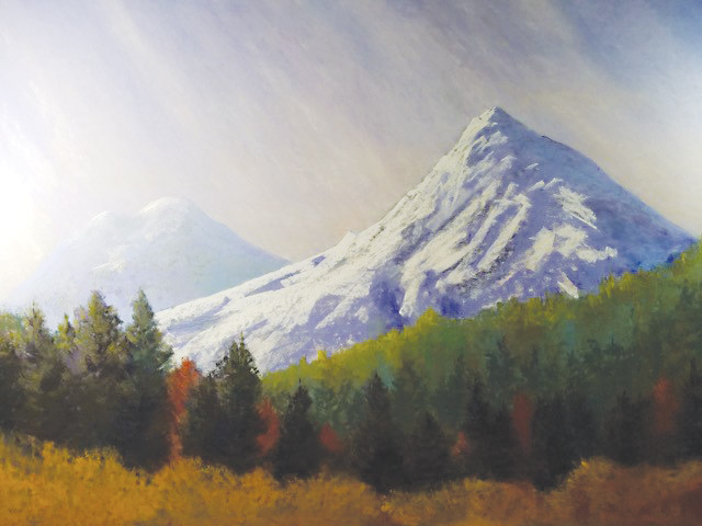 Majestic Mountain by Lise Hoffman-McCabe