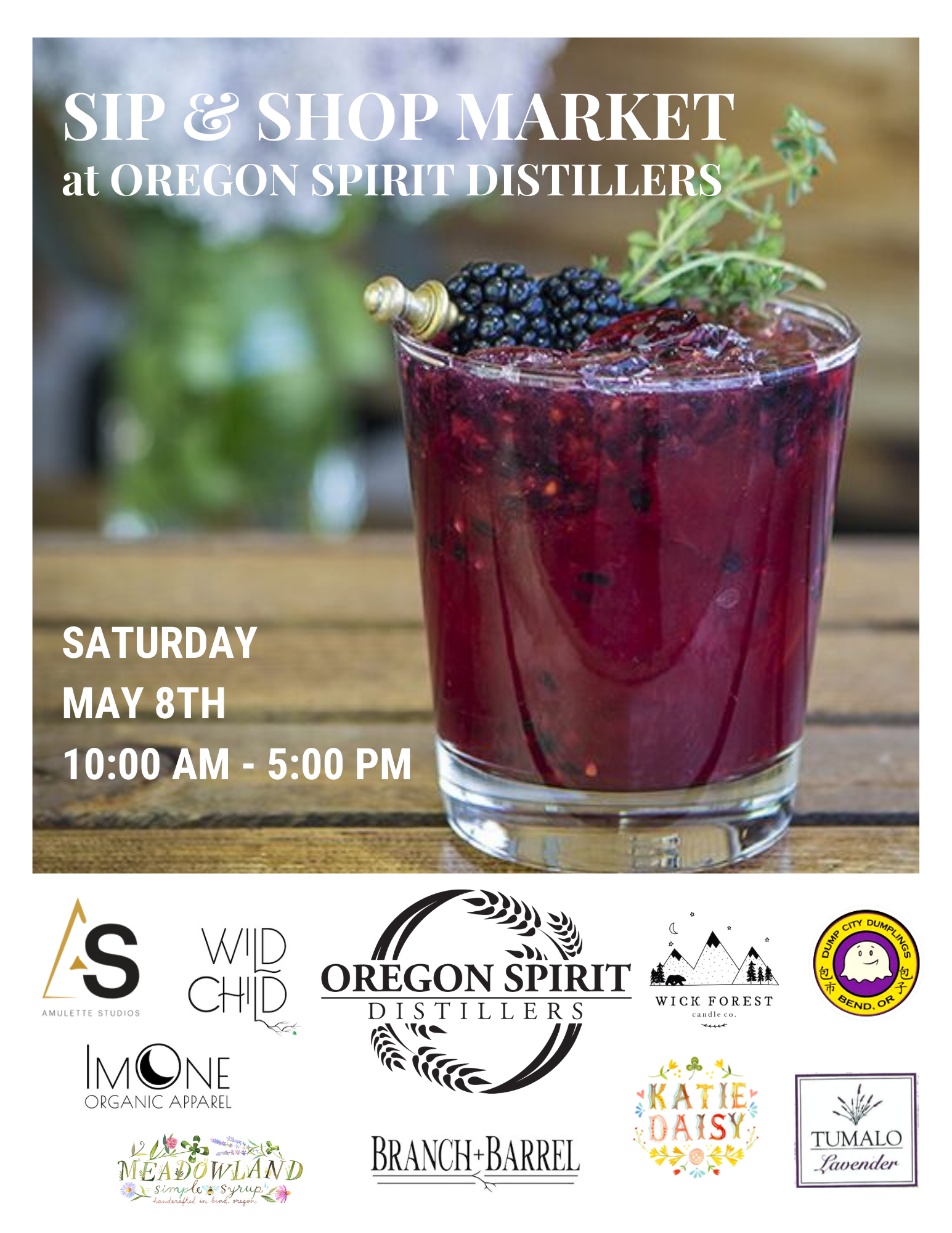 Sip & Shop Market @ Oregon Spirit Distillery