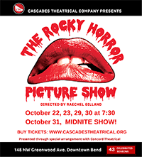 The Rocky Horror Picture show @ Cascades Theatrical Company