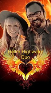 Live at the Vineyard: Heller Highwater Duo - Advance Ticket Purchase Required @ Faith Hope & Charity Vineyards